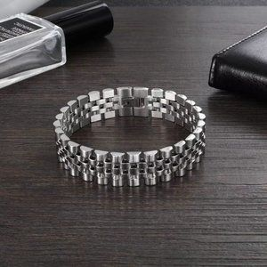 Silver color Stainless Steel Bracelet